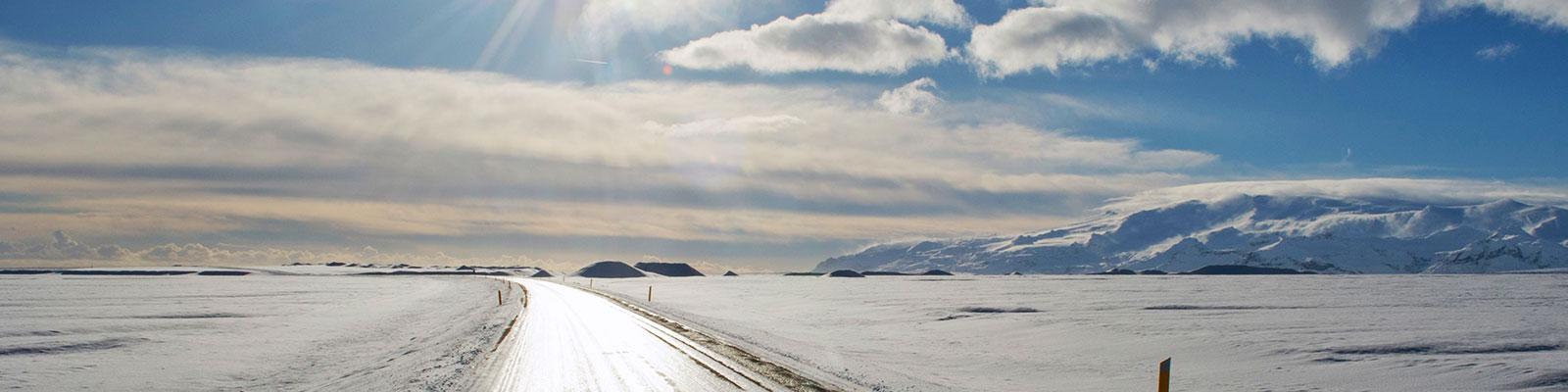 North Western Canada Road